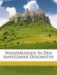 Wanderungen In Den Ampezzaner Dolomiten