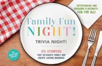 Family Fun Night! Trivia Night! Placemats