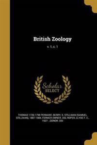 BRITISH ZOOLOGY V 1 C 1
