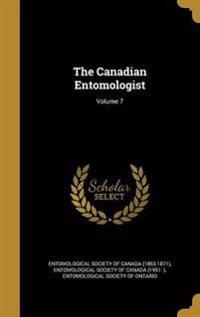 CANADIAN ENTOMOLOGIST V07