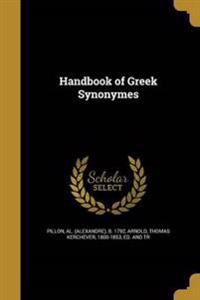 HANDBK OF GREEK SYNONYMES