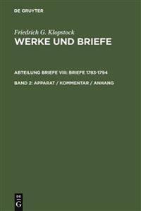 Friedrich Gottlieb Klopstock, Werke Und Briefe