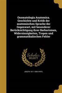 LAT-ONOMATOLOGIA ANATOMICA GES