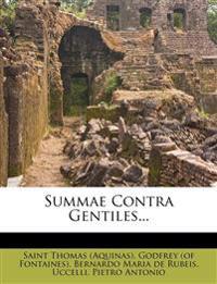 Summae Contra Gentiles...