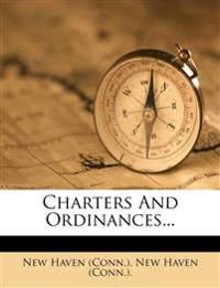 Charters And Ordinances...