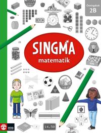 Singma matematik 2B Övningsbok