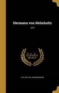 GER-HERMANN VON HELMHOLTZ VOL