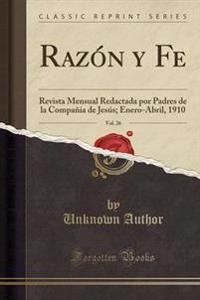 Razn y Fe, Vol. 26