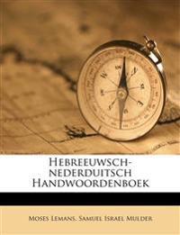 Hebreeuwsch-nederduitsch Handwoordenboek