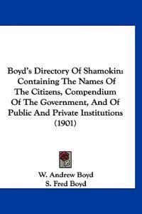 Boyd's Directory of Shamokin