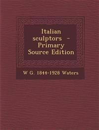 Italian Sculptors