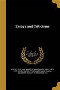 ESSAYS & CRITICISMS