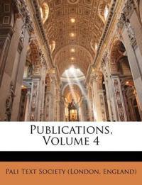Publications, Volume 4