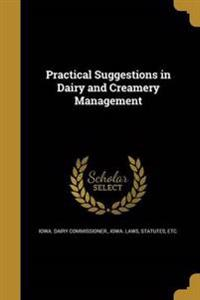 PRAC SUGGESTIONS IN DAIRY & CR