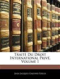 Traité Du Droit International Privé, Volume 1