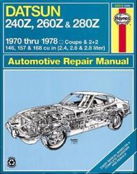Haynes Datsun 240z, 260z, and 280z Manual, 1970-1978