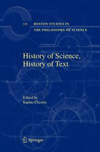 History of Science, History of Text