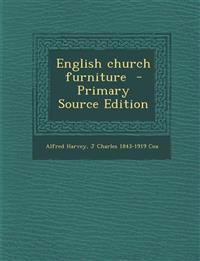 English church furniture