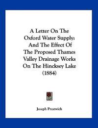 A Letter on the Oxford Water Supply