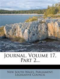 Journal, Volume 17, Part 2...