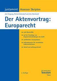 Der Aktenvortrag: Europarecht
