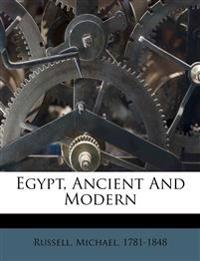 Egypt, ancient and modern