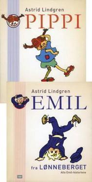 Pippi Langstrømpe ; Emil fra Lønneberget