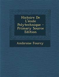 Histoire de L'Ecole Polytechnique