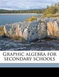 Graphic algebra for secondary schools