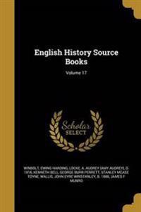 ENGLISH HIST SOURCE BKS V17