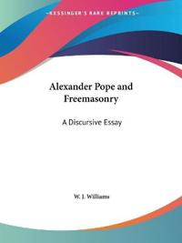 Alexander Pope and Freemasonry