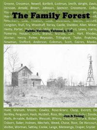 Family Forest: Public Version Volume 3 E-G
