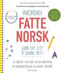 Hvordan fatte norsk; gjør det lett å skrive rett