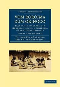 Vom Roroima zum Orinoco 5 Volume Paperback Set Vom Roroima zum Orinoco