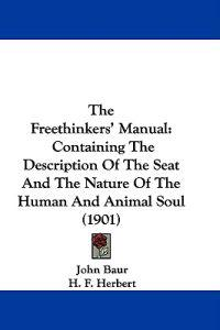 The Freethinkers' Manual