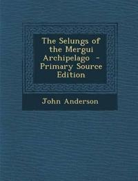 Selungs of the Mergui Archipelago