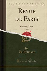 Revue de Paris, Vol. 10
