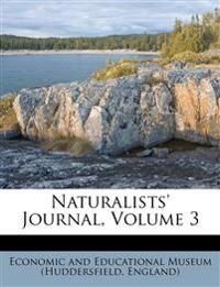 Naturalists' Journal, Volume 3