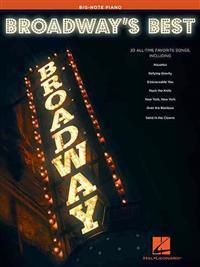 Broadway's Best: Big-Note Piano