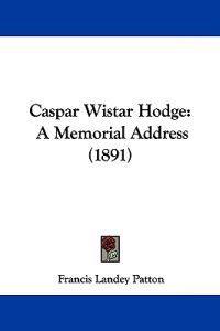 Caspar Wistar Hodge