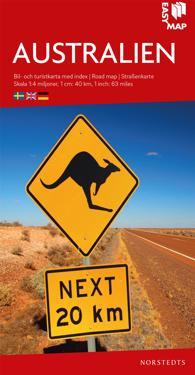 Australien EasyMap : Skala 1:4milj