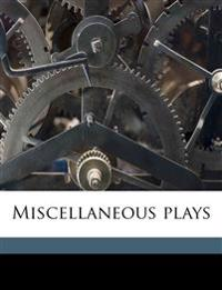 Miscellaneous plays