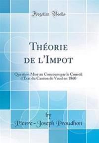 Théorie de l'Impot