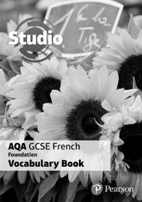 Studio AQA GCSE French Foundation Vocabulary Book (pack of 8)