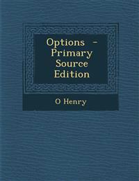 Options - Primary Source Edition