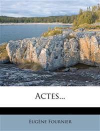 Actes...