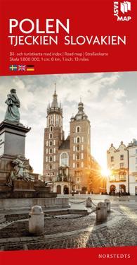 Polen EasyMap : Skala 1:800.000