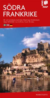 Södra Frankrike EasyMap : Skala 1:675.000