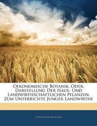 Oekonomische Botanik, Oder, Darstellung Der Haus- Und Landwirthschaftlichen Pflanzen, Zum Unterrichte Junger Landwirthe