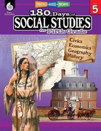 180 Days of Social Studies for Fifth Grade (Grade 5): Practice, Assess, Diagnose